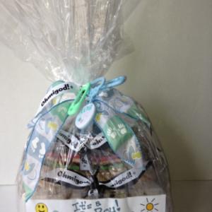 New Baby Gift Basket - Design B