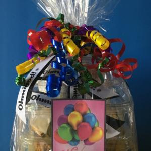 Birthday Gift Basket Design H