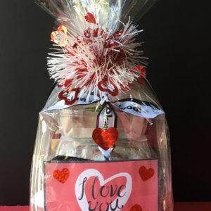 Valentines Day Gift Basket Design C