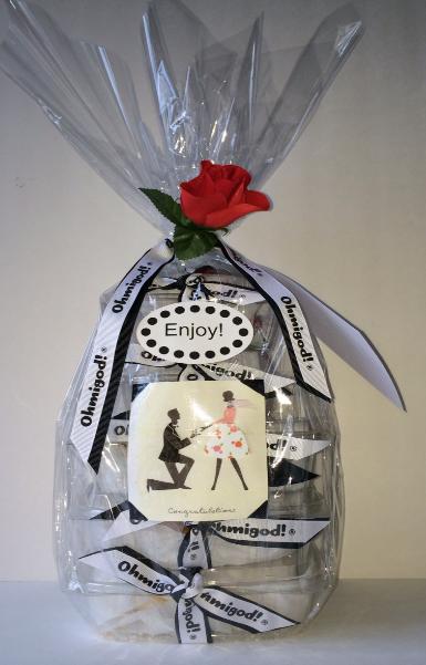 Love & Romance Gift Basket - Design A