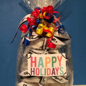 Holiday/New Years Gift Basket - Design B