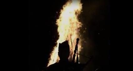 Bonfire bagpiper music
