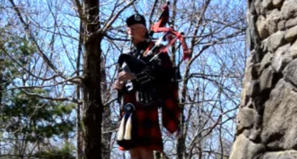 The Water is Wide bagpiper music