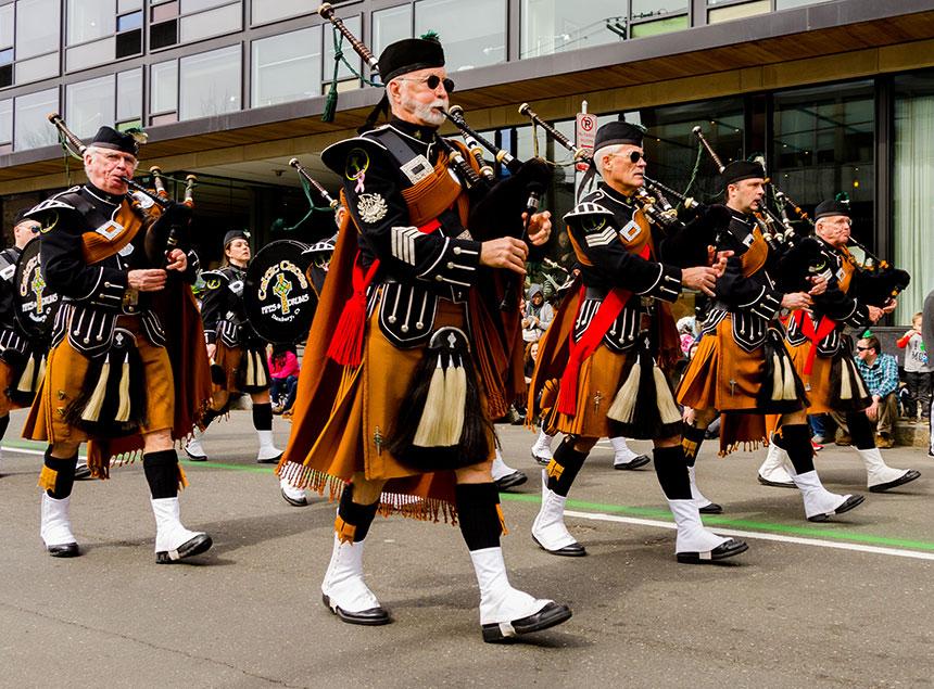 bagpiper parade ct