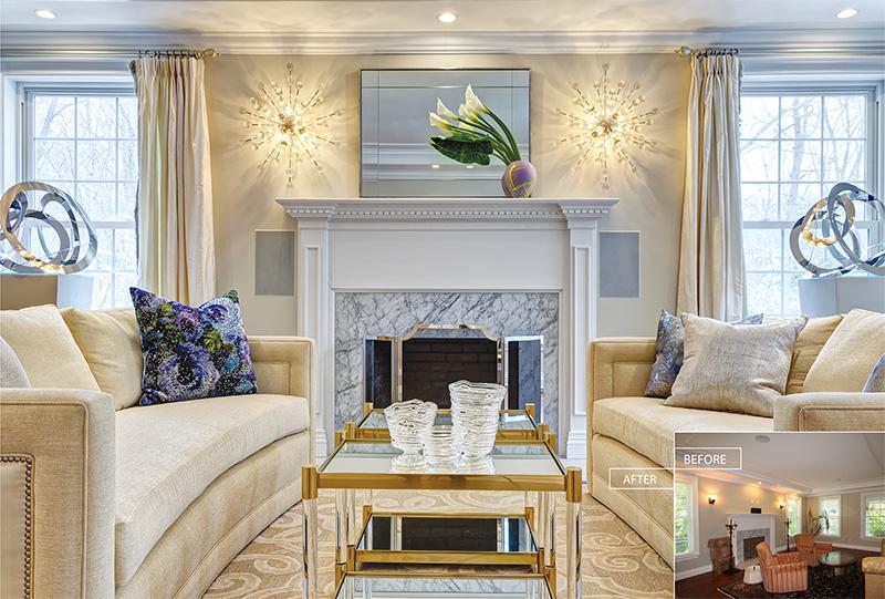 Living Room - Wilton, CT