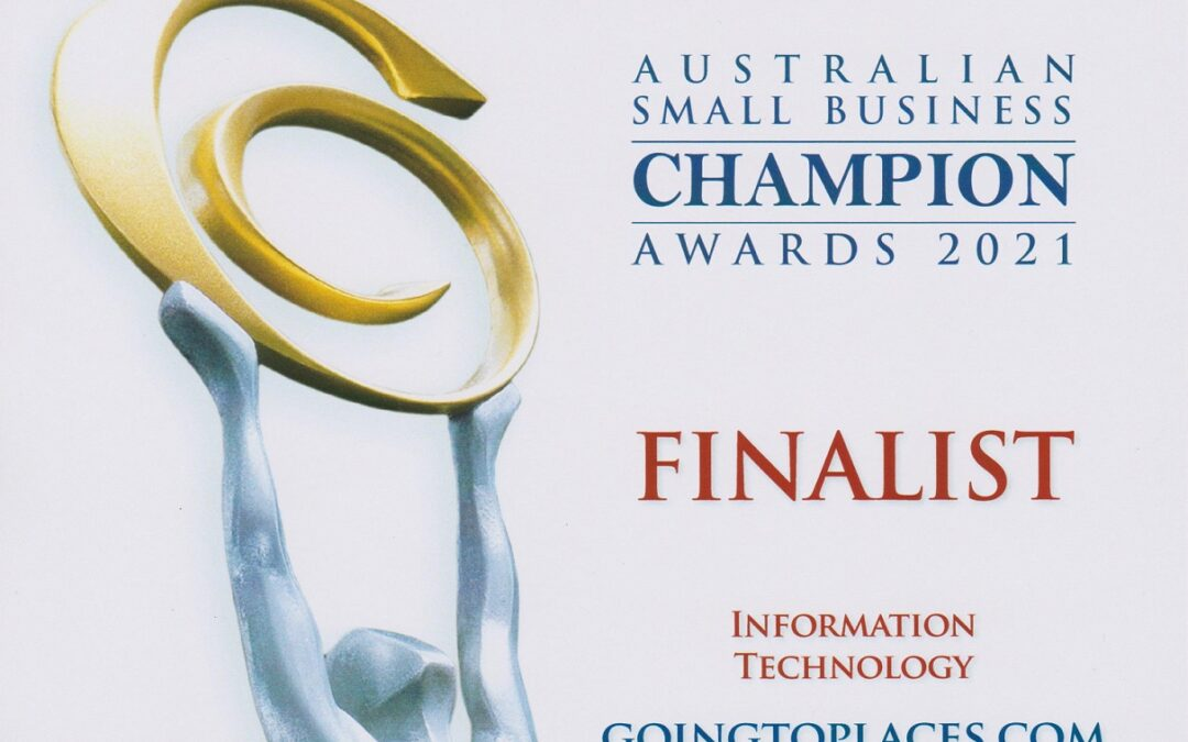 Finalist 2021 Australian Small Business Champion Awards