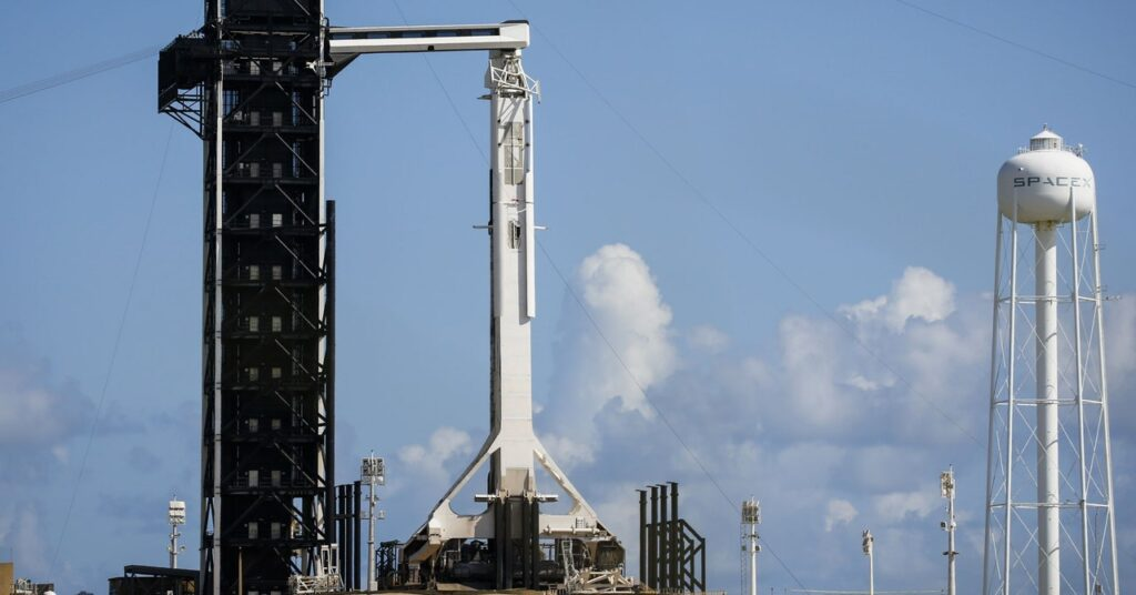 Inspiration4 Mission of SpaceX splashes down off Florida