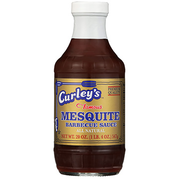 Curley's Mesquite Barbecue Sauce 20oz