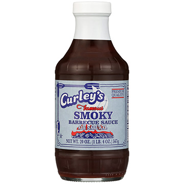 Curley's Smoky Barbecue Sauce 20oz