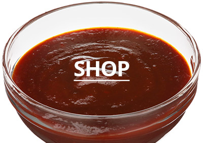 bowl of BBQ sauce