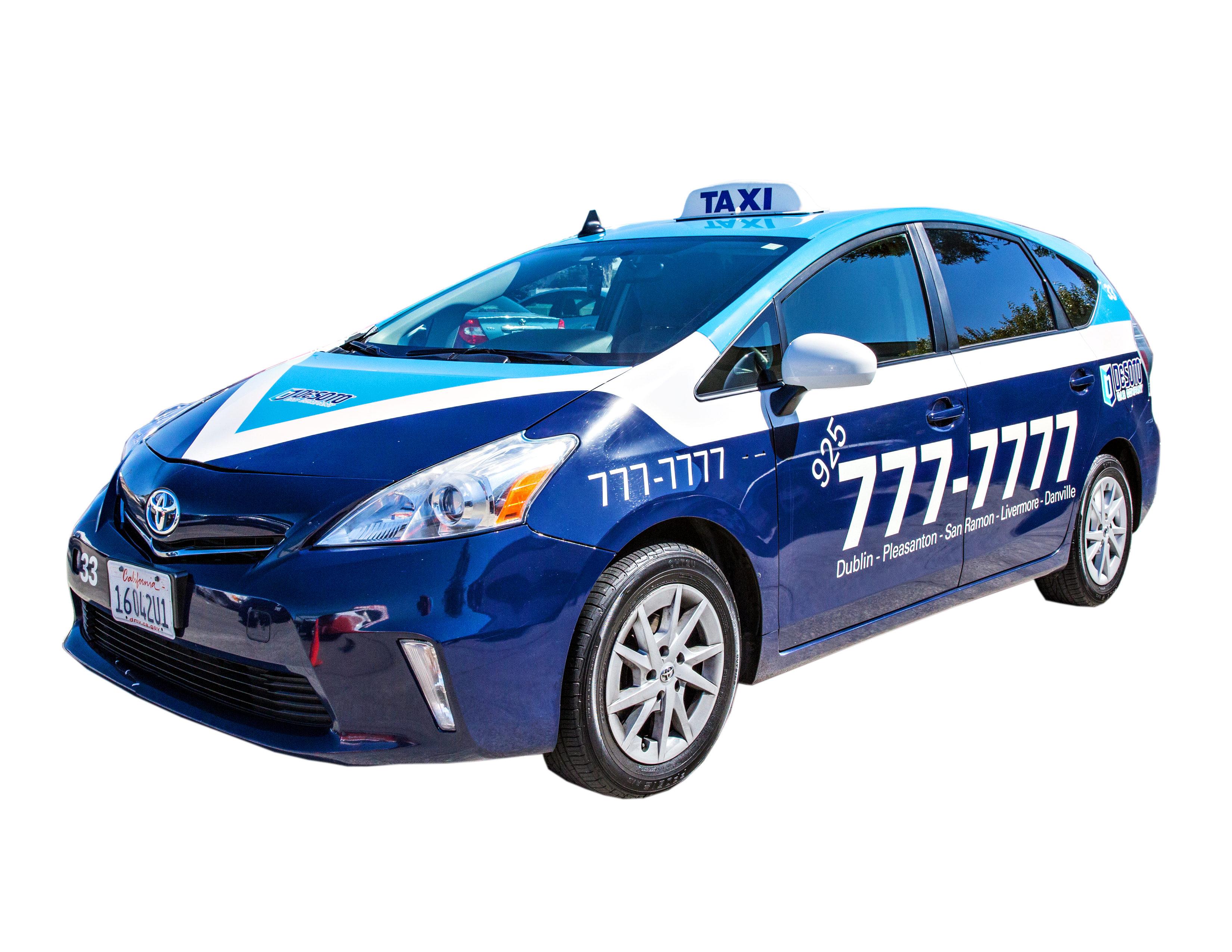 pleasanton taxi cab