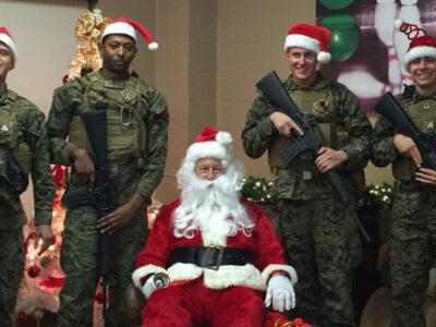 Christmas Marine-Style