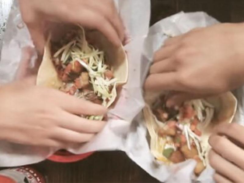 Asado Tacos Video