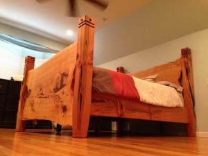 Deador Cedar Bed frame