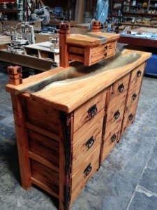 Deador Cedar bedroom set
