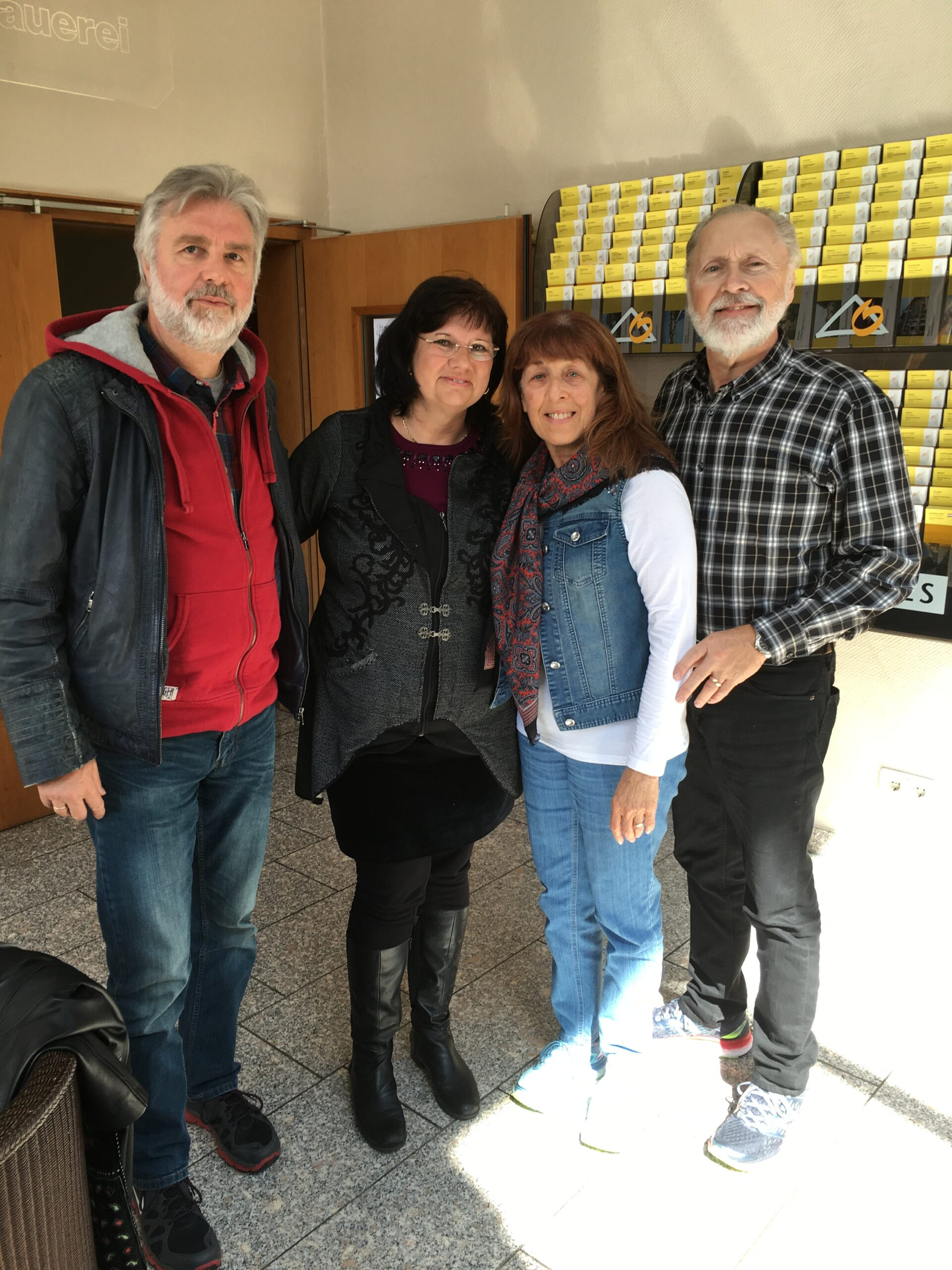 Pastors Gerald and Susan with Pastors Bernhard and Karin Koch in Rinteln, Germany