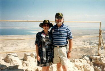 Standing on the top of Masada