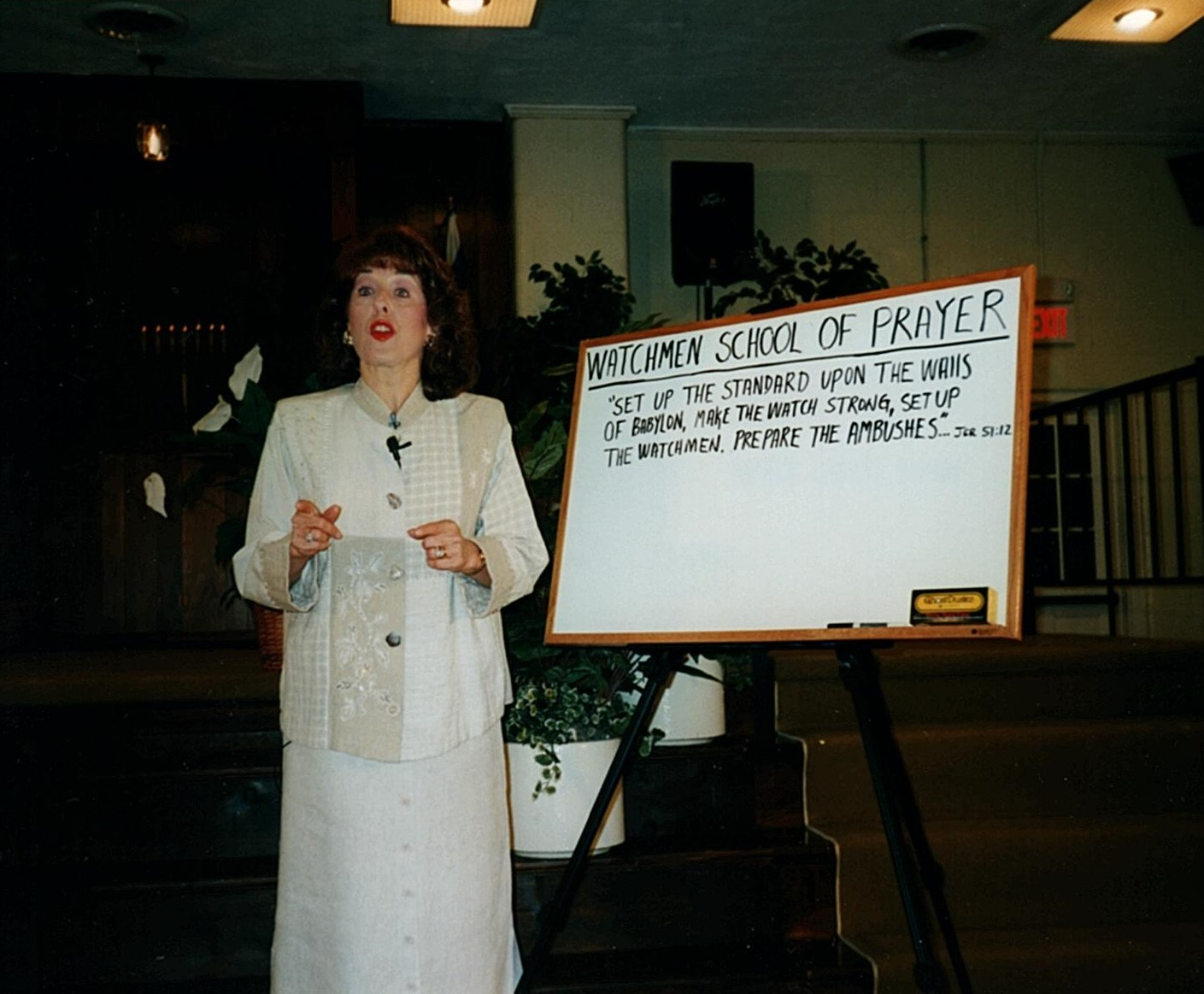 About Watchmen School of Prayer