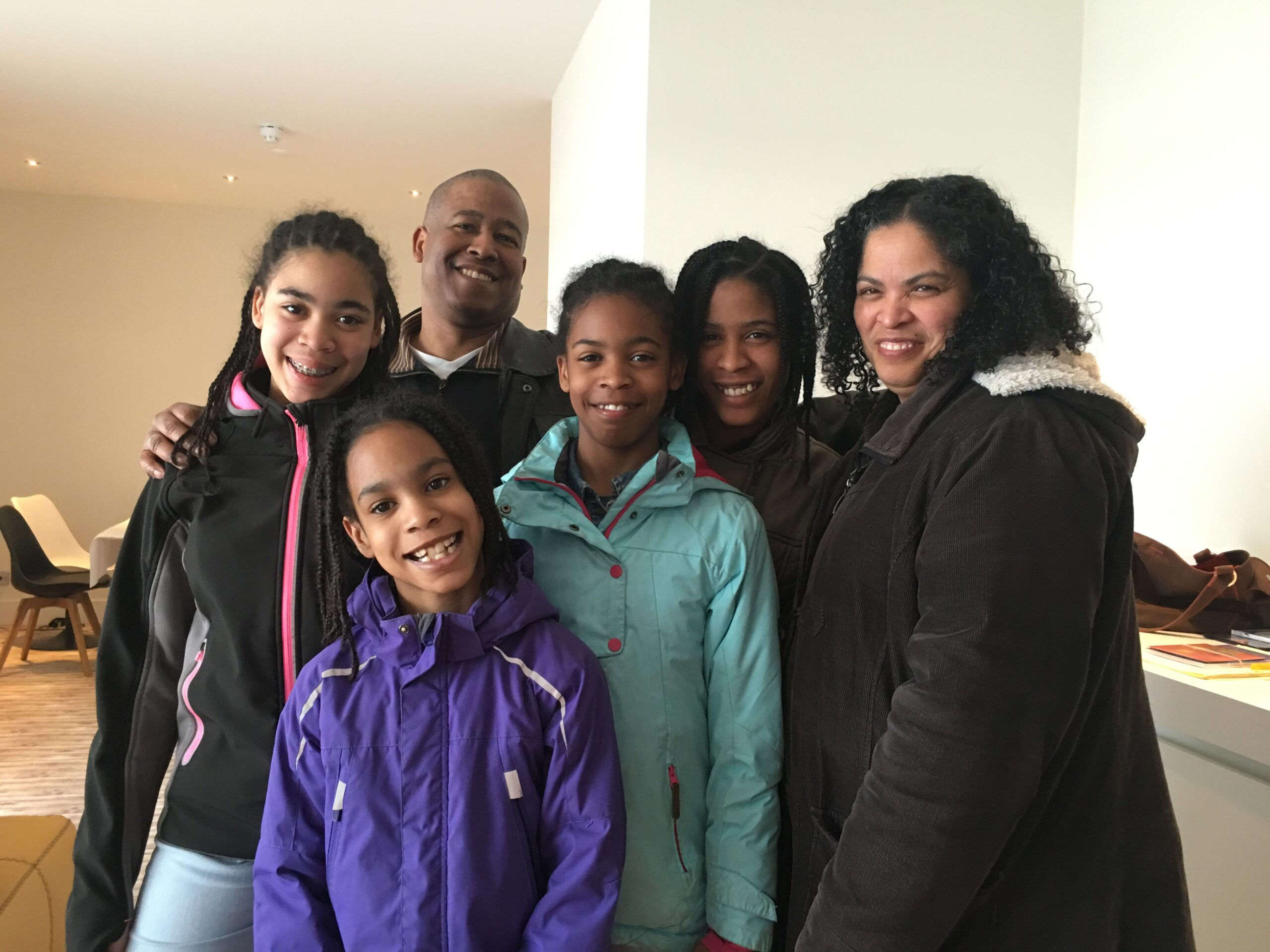 Our close friends, Rev. Remsley Riley, Shahidra, and children