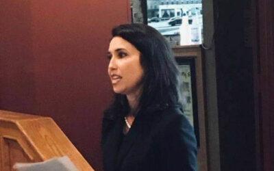 District Judge Shauna Murphy Addresses Bar Association