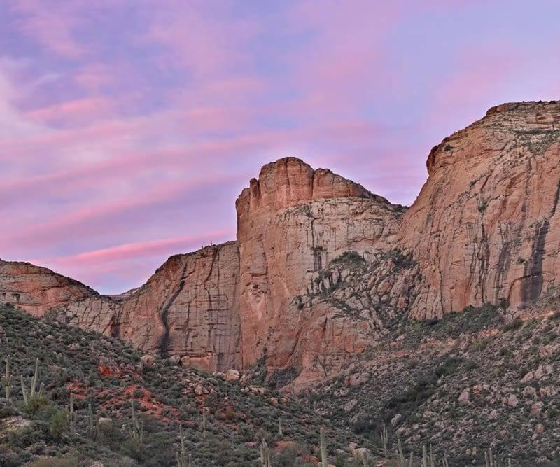 Sunset on Cliffs