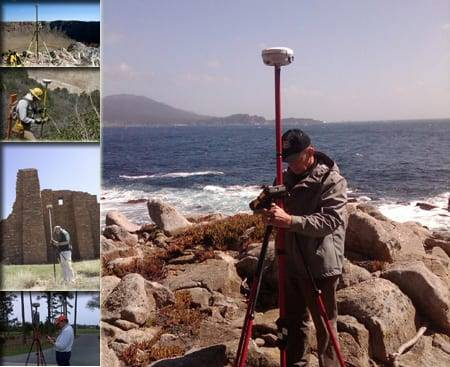 Man surveying multiple landscapes
