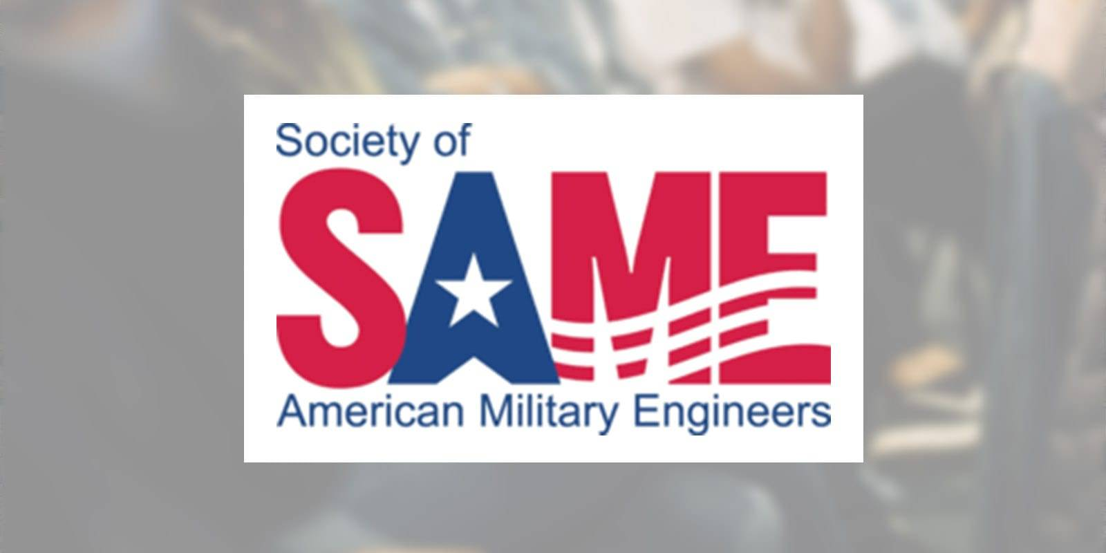 Society of American Military Engineers logo