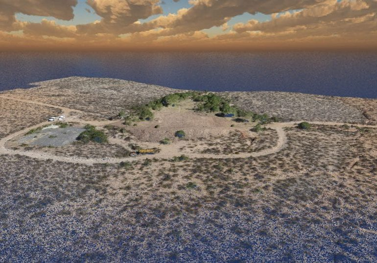 point cloud in 3d view