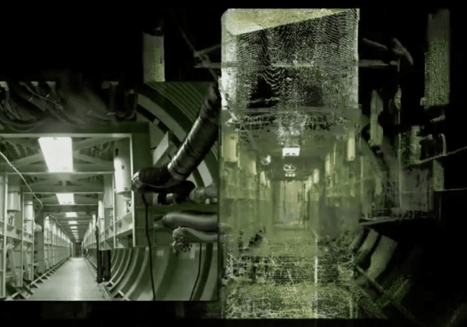 3D laser scan of the inside of the Titan Missile Silo in Arizona