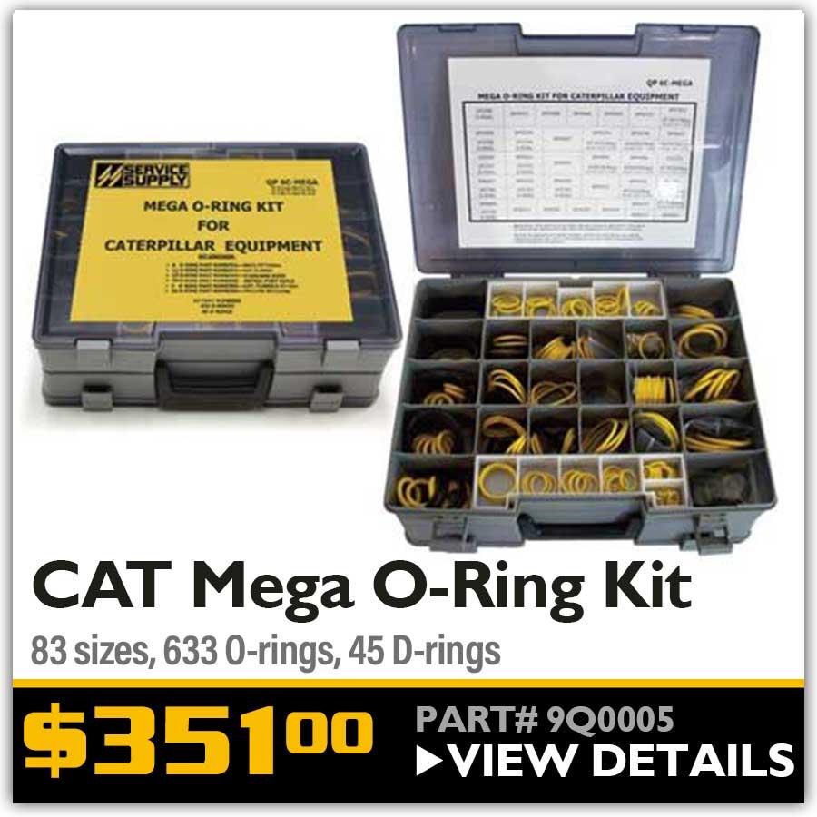CAT mega oring kit
