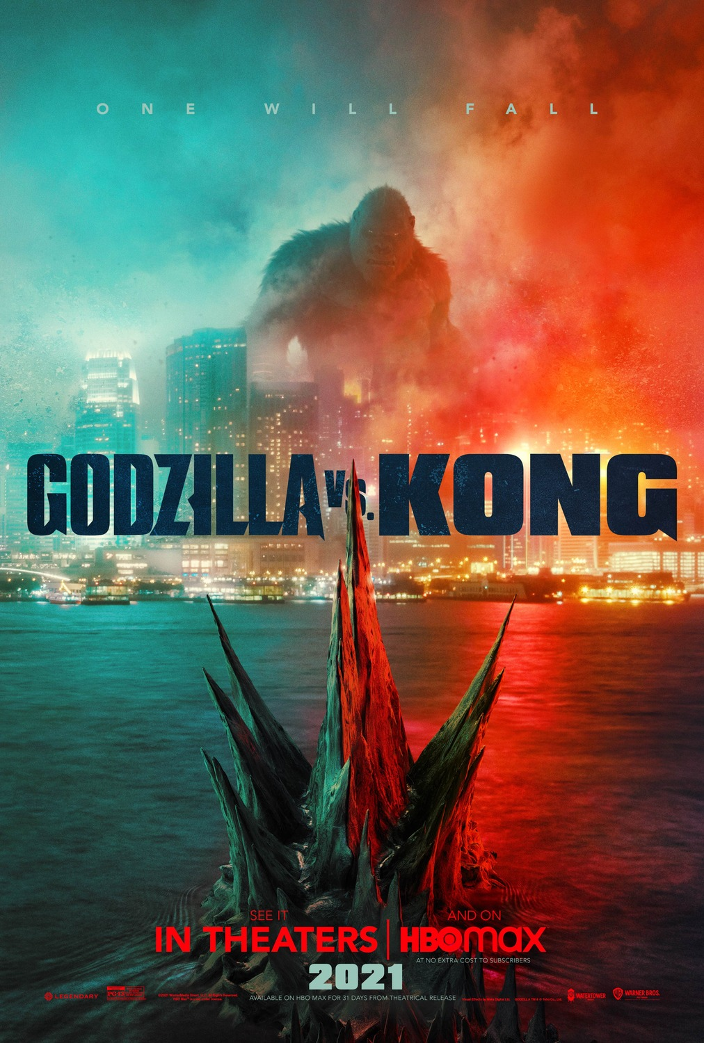 Kevin and Kevin tell you what to watch: Godzilla vs Kong and IT 4/7/21 And you're welcome