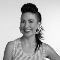Michelle Lesniak FashioNXT 2016 UpNXT Judge