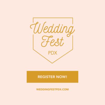 Wedding Fest PDX Register Now! IG Post