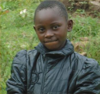 Daisy Wangila 7 years old