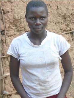 Sharon Khisa 14 years old