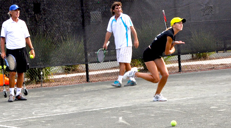 Pre-teen and teen after school tennis clinics at Grande Dunes Tennis Club