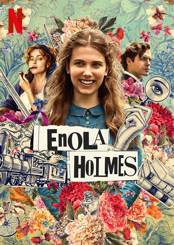 Scoot over Sherlock, here comes Enola Holmes!