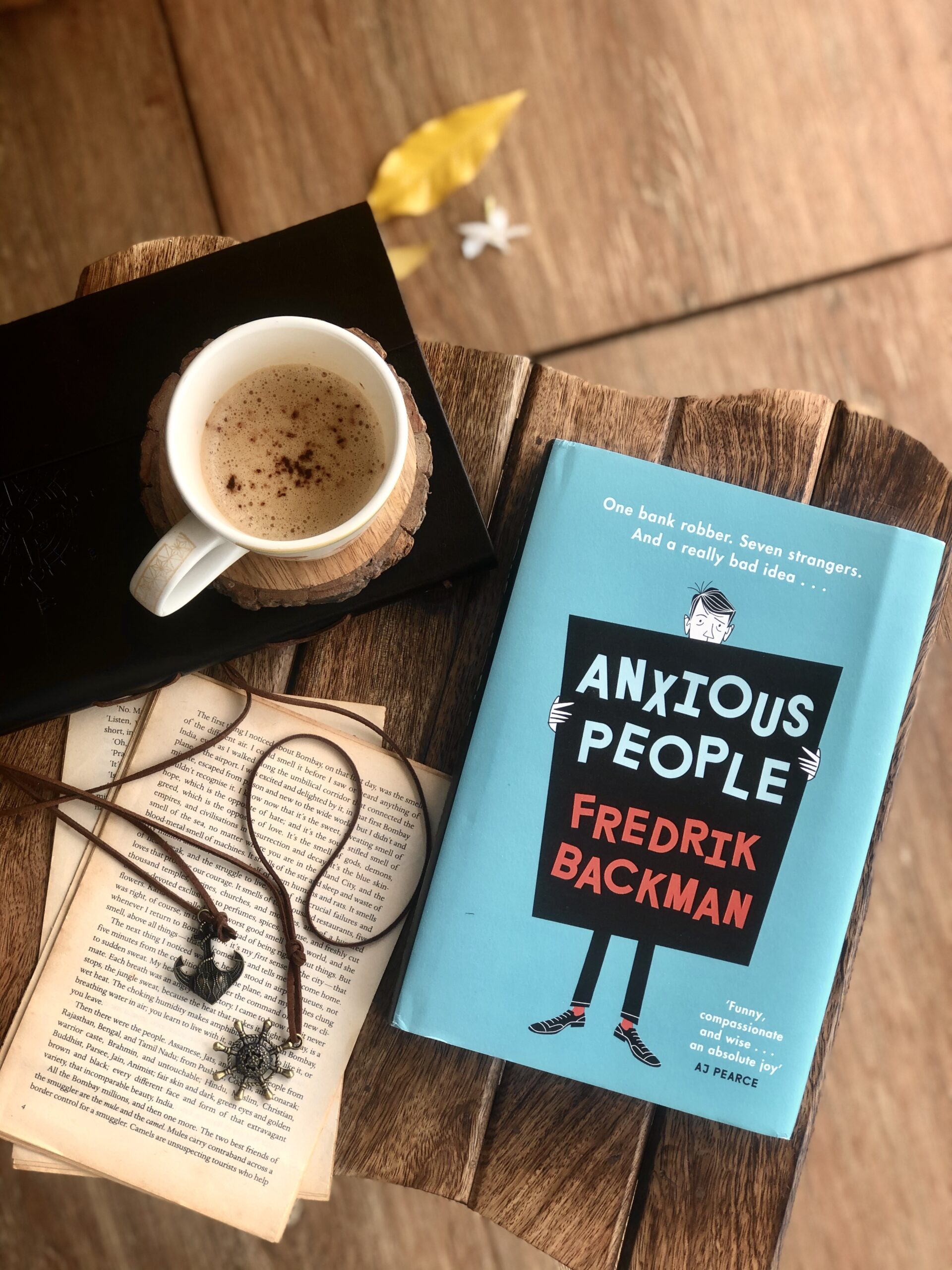 Anxious People by Fredrik Backman- a heartwarming comedy of idiots
