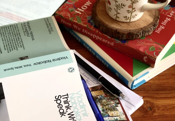 A mixed bag of writing- through the books I read and am reading