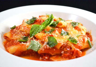 Paccheri | Renzo's Ristorante | Italian Fine Dining | Hendersonville, NC
