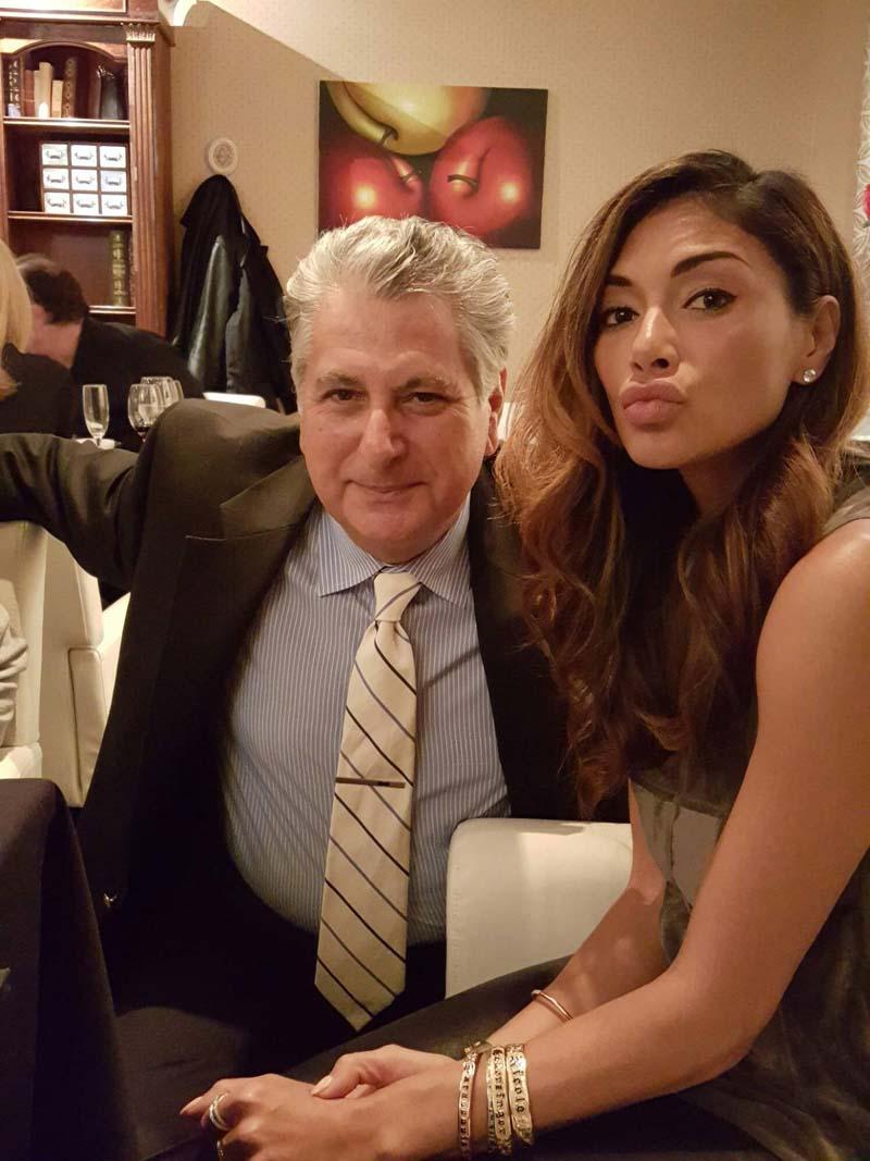 Renzo & Nicole Scherzinger   Dirty Dancing Cast Visits Renzo's Ristorante   Fine Italian Dining   Hendersonville, NC