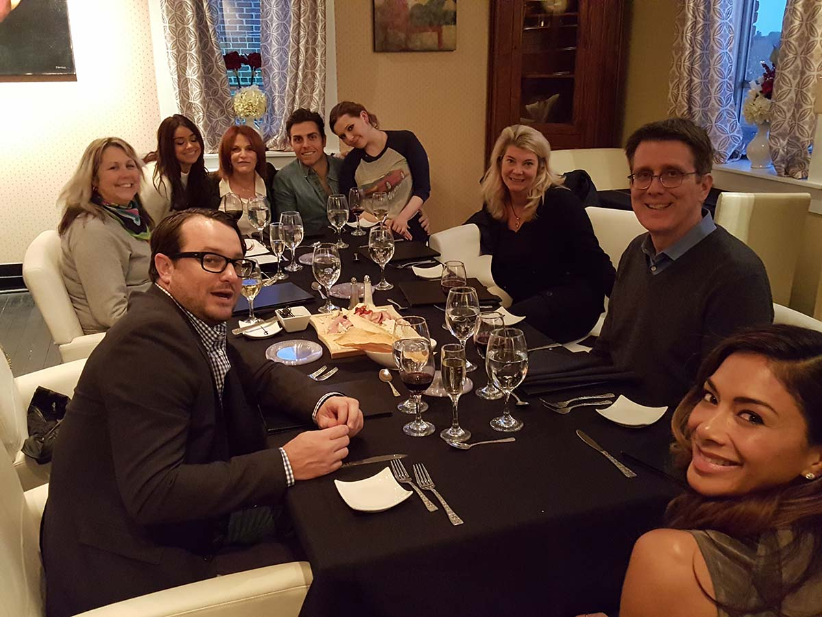 Dirty Dancing Cast Visits Renzo's Ristorante | Fine Italian Dining | Hendersonville, NC