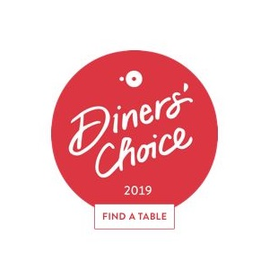 Renzo's Voted OpenTable Diners' Choice 2019