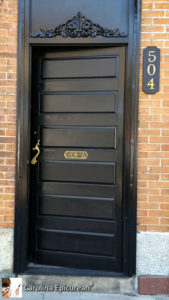 Main St Door