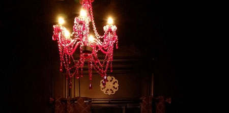 Speakeasy Chandelier
