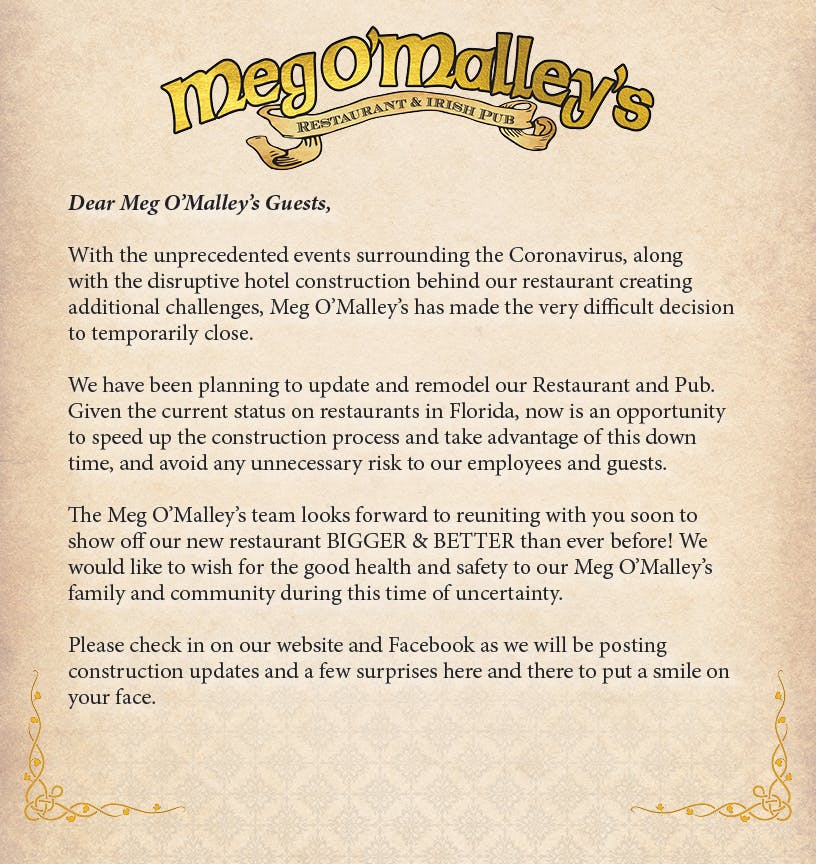 Meg O'Malley's Restaurant & Irish Pub