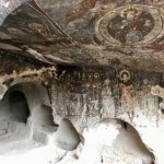 Caves where a civilization thrived