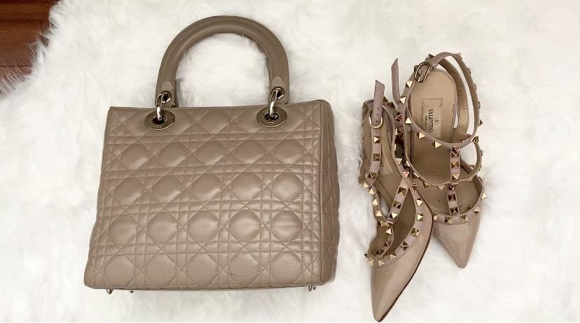Lady Dior and Valentino