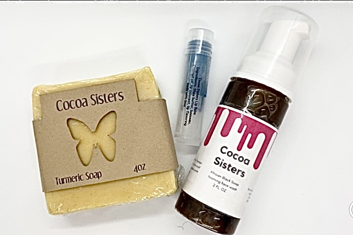 Cocoa Sisters Skin Care Products on Etsy
