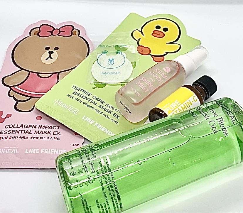 Plumpshop Official PR package - masks, serums, cica, vitamin C